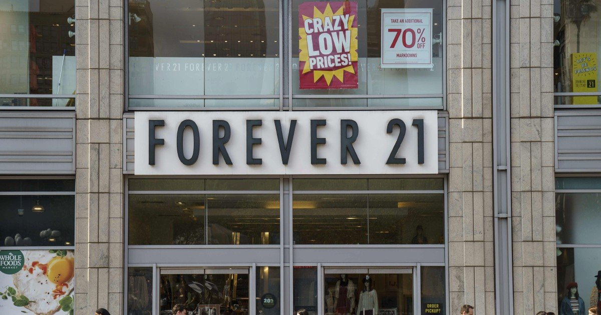 Forever 21 is bankrupt; all Asia stores to close