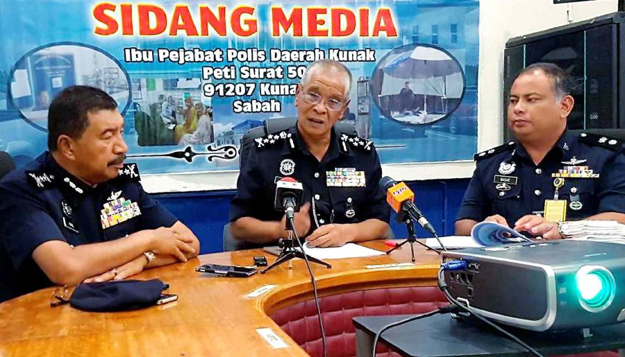KDeputy Inspector-General of Police Tan Sri Noor Rashid Ibrahim confirmed that Tarab was involved in a KFR group. Pix by Abdul Rahemang Taiming