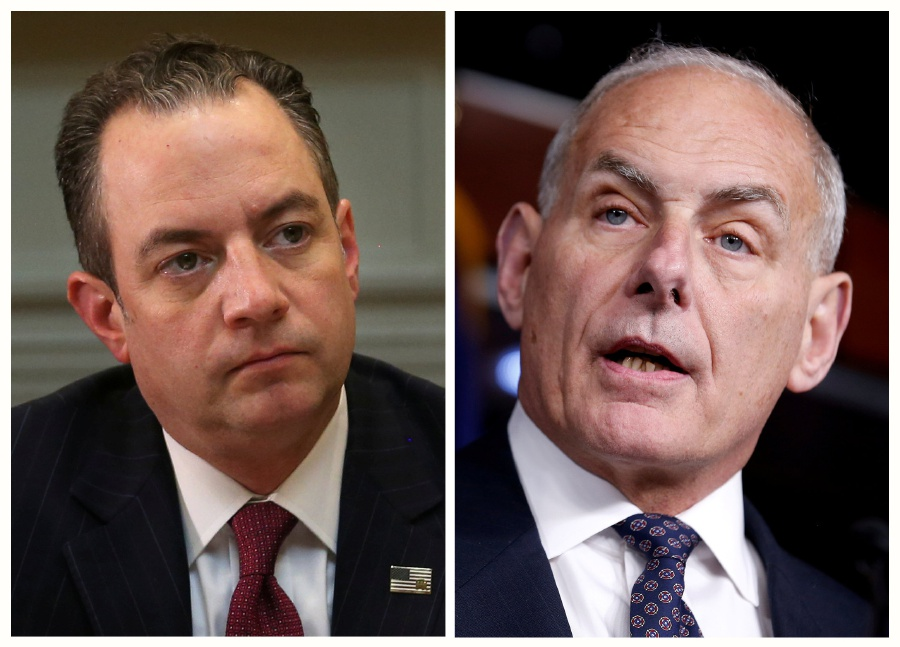 Reince Priebus out as chief of staff, John Kelly in