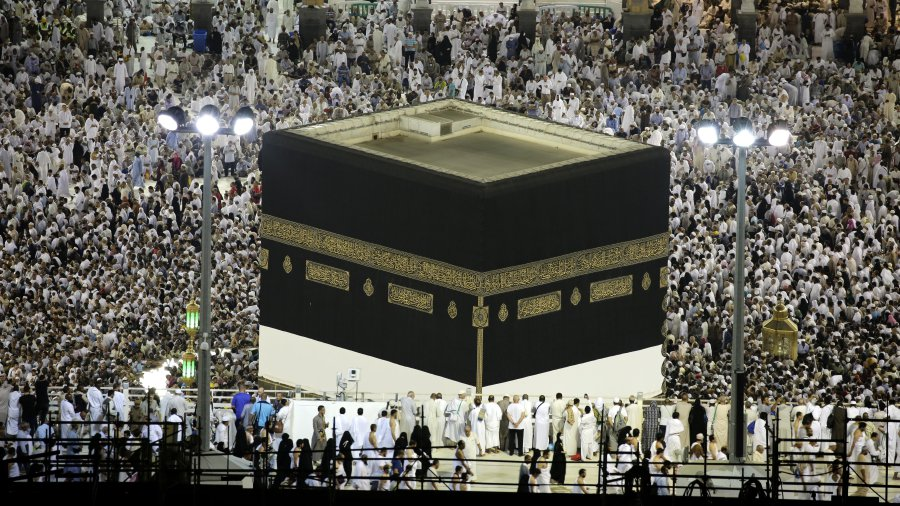 The Hajj in Mecca attracts millions Muslim pilgrims to Saudi Arabia