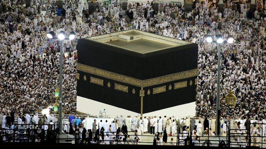 Two million Muslims begin Hajj pilgrimage in Mecca