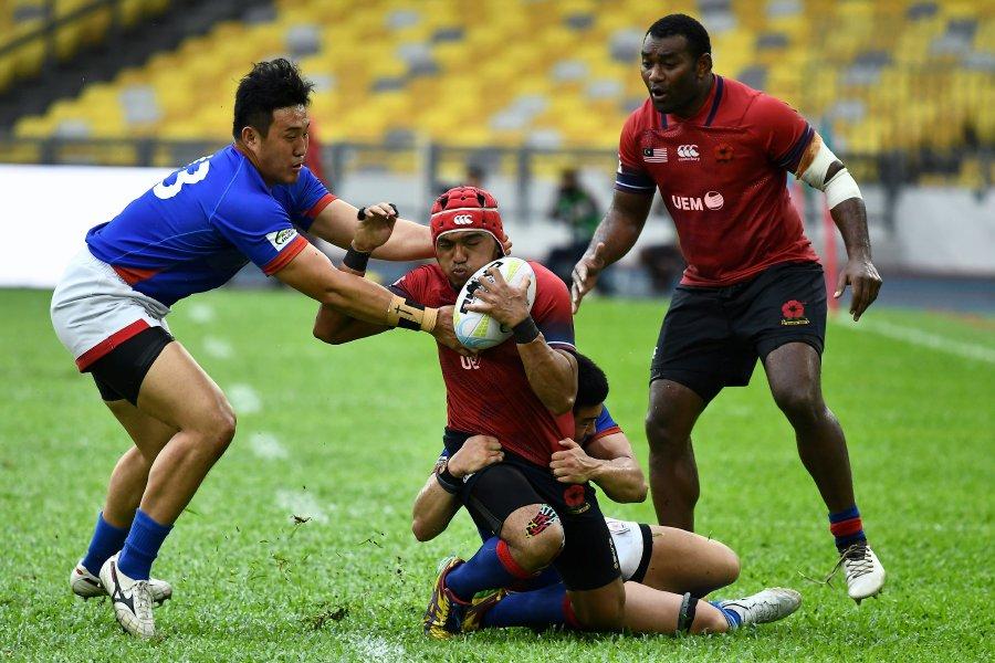 <b>Rugby</b>) Malaysia close gap on big guns | New Straits Times ...