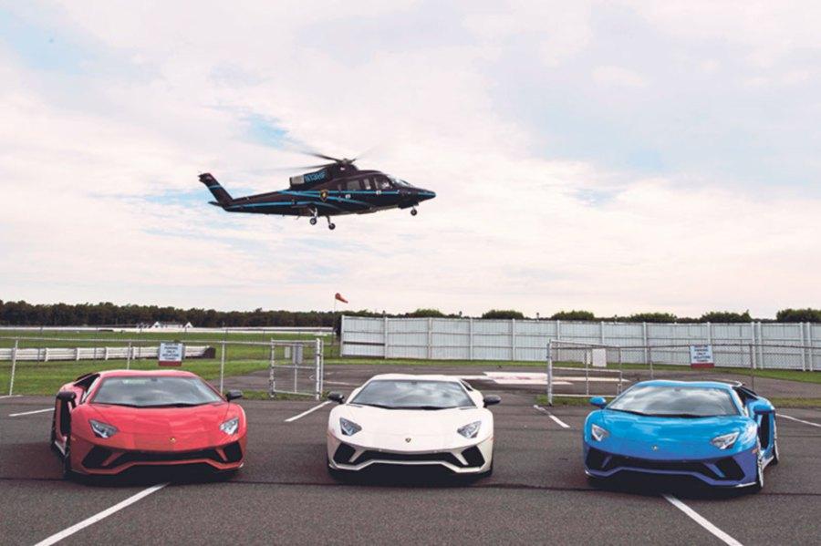 Italian Supercar Lamborghini S New Aventador S New Straits Times