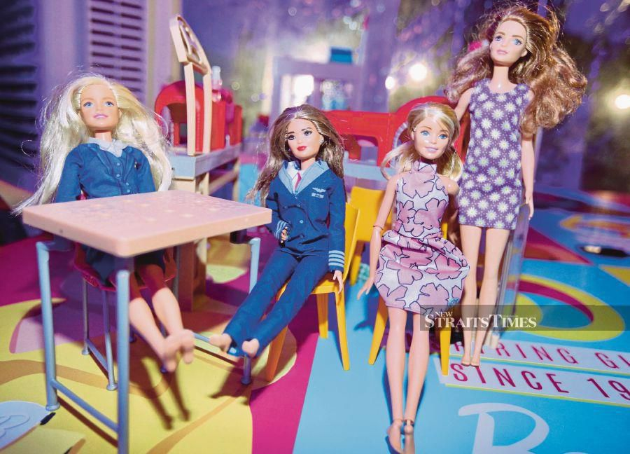 Children and teenagers used to be crazy over releases of new Barbie dolls. FILE PIC