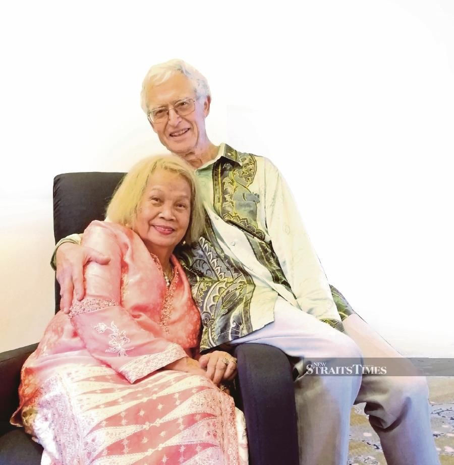 Yusof Abdullah and Zaharah Kidam have been married for more than 50 years.