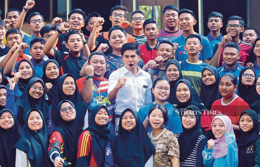 It is young people who will start businesses, work in factories, build homes, take loans, study, become consumers of goods and services, and be leaders. PIC BY ADZLAN SIDEK