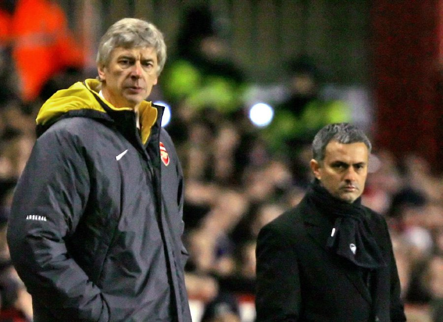 b7bd1f825 Mourinho wants to coach for as long as Wenger | New Straits Times ...