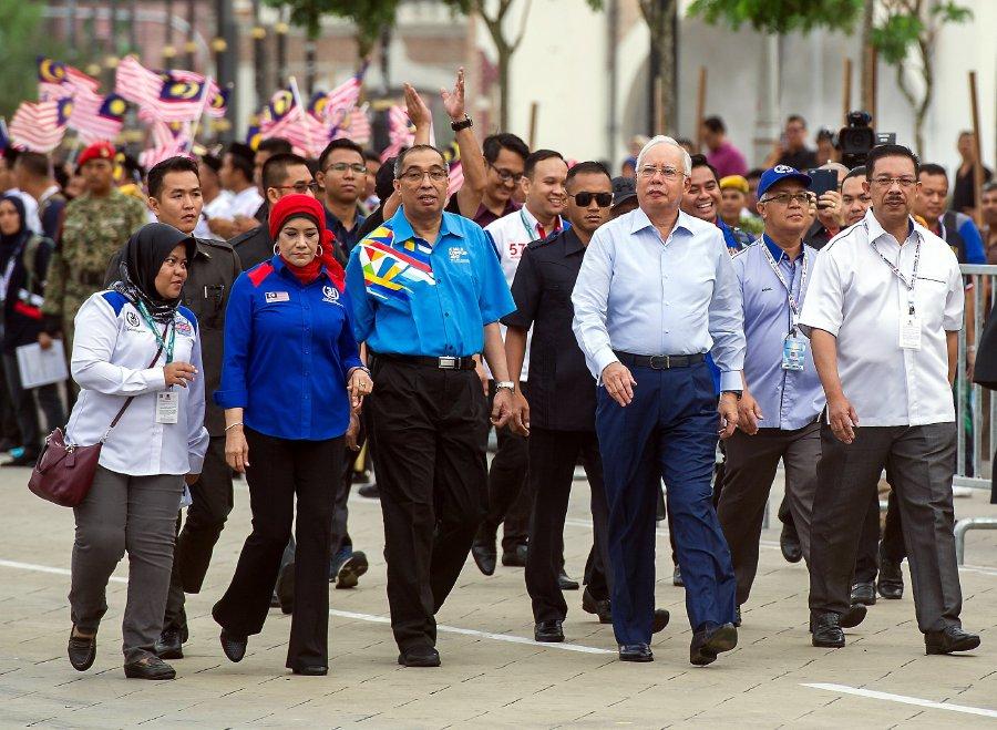 Image result for Najib Razak in 2009