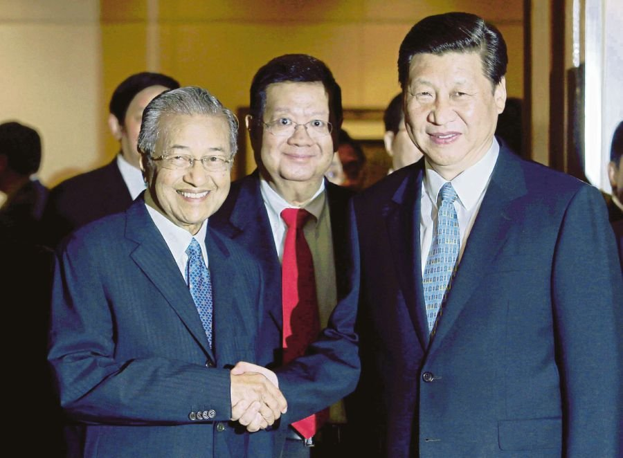 Image result for Mahathir and Xi