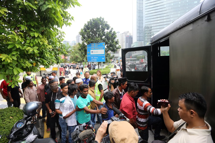 44 Rohingya protestors nabbed over illegal rally