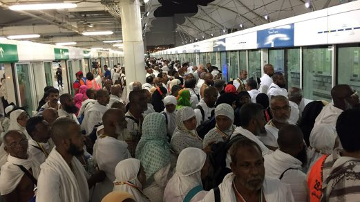 Mecca stampede not caused by train service: Prasarana   New