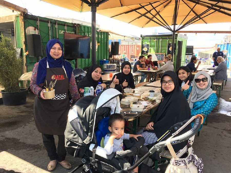 In Denmark, say 'hej' to halal Malaysian satay thanks to this woman's passion for cooking