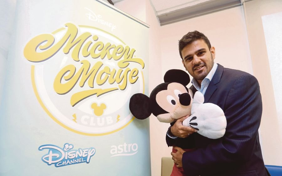 Media Networks of The Walt Disney Company Southeast Asia vice-president and general manager Amit Malhotra in Petaling Jaya recently. PIC BY HALIMATON SAADIAH SULAIMAN