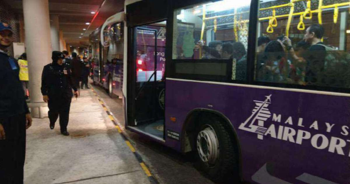 Airport should provide buses for passengers