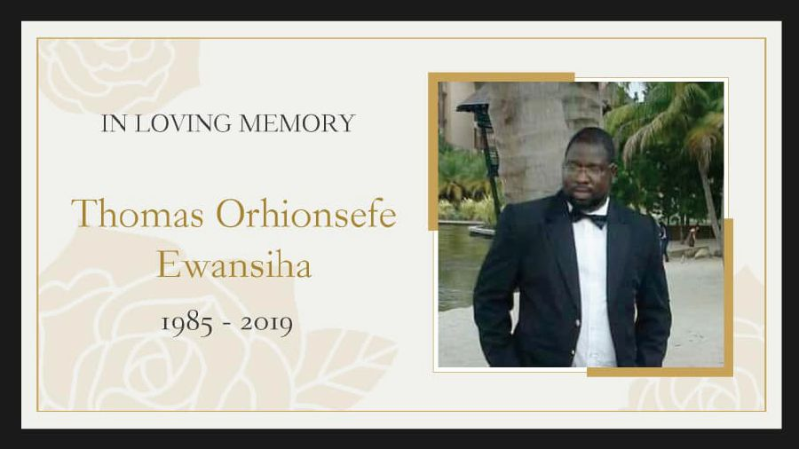 Nigerian student Thomas Orhions Ewansiha is believed to have died from a seizure while asleep at the Immigration detention depot in Bukit Jalil. -- Photo taken from Limkokwing University of Creative Technology Facebook page