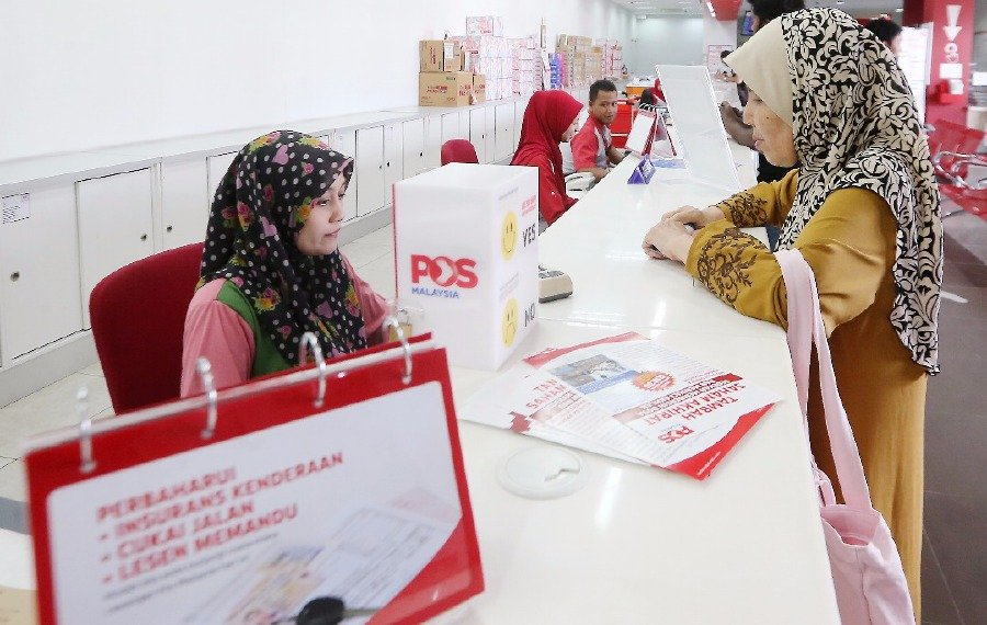Lack Of Counters To Renew Road Tax At Post Offices
