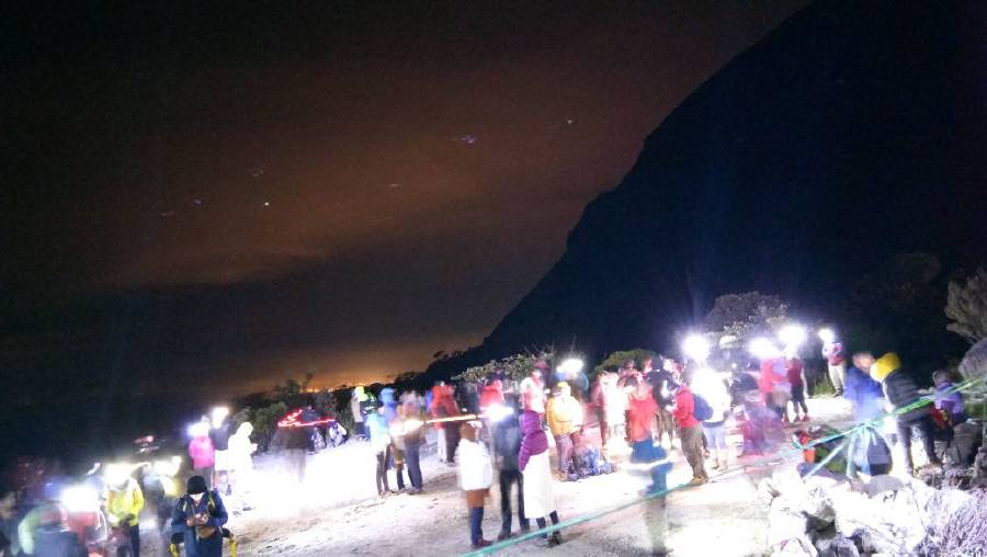 Over 100 Mount Kinabalu climbers rush to safety after quake strikes Sabah