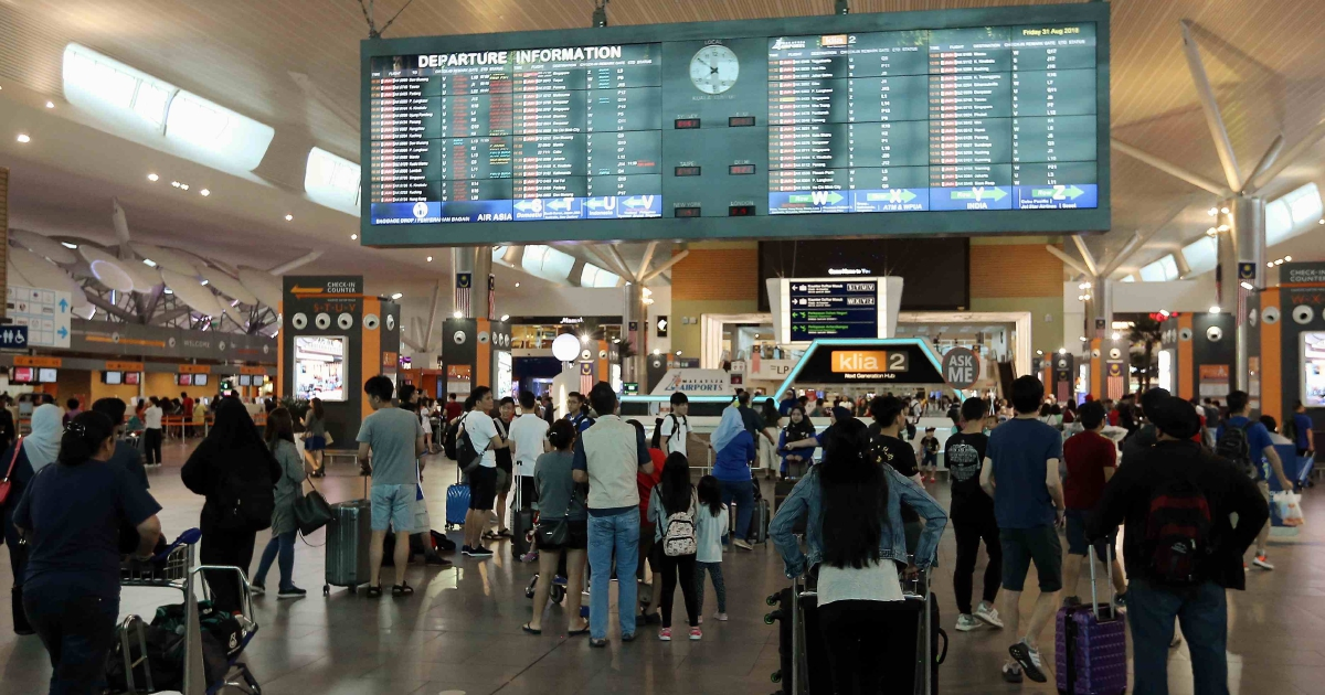 AirAsia irked by long queues at klia2