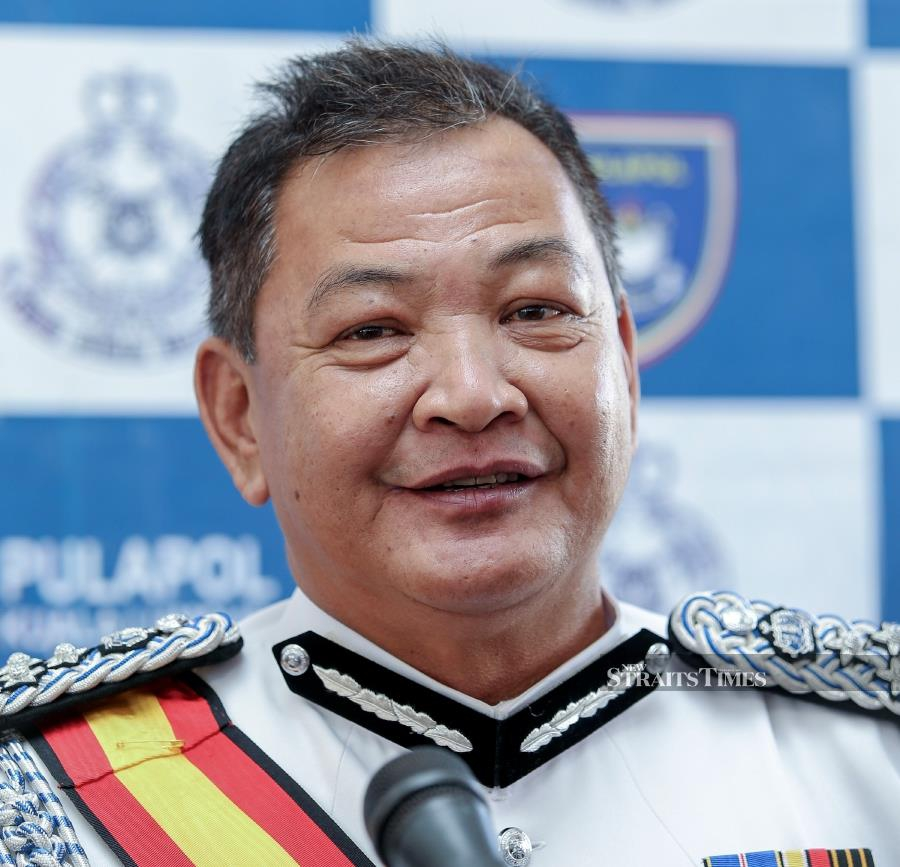 Acting Deputy Inspector-General of Police Datuk Seri Abdul Hamid Bador said Suhakam's allegation had impacted the police force badly. Pic by NSTP/ASWADI ALIAS