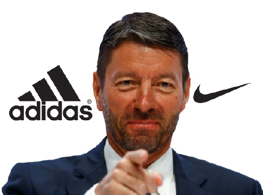 badf23a5931 New Adidas CEO sets off in pursuit of Nike