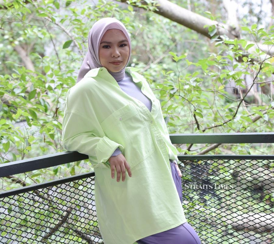 Aina Abdul (NSTP/FILE PIC)
