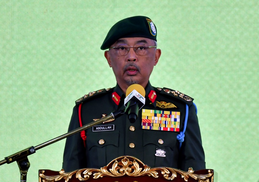 The Yang di-Pertuan Agong Al-Sultan Abdulllah Ri'ayatuddin Al-Mustafa Billah Shah has granted an early pardon to 13 convicts in conjunction with the country's 63rd National Day today.  - Bernama pic