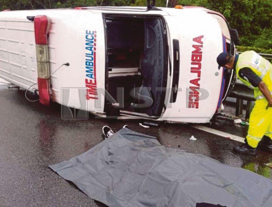 Ambulance driver killed, passenger injured in crash on NSE