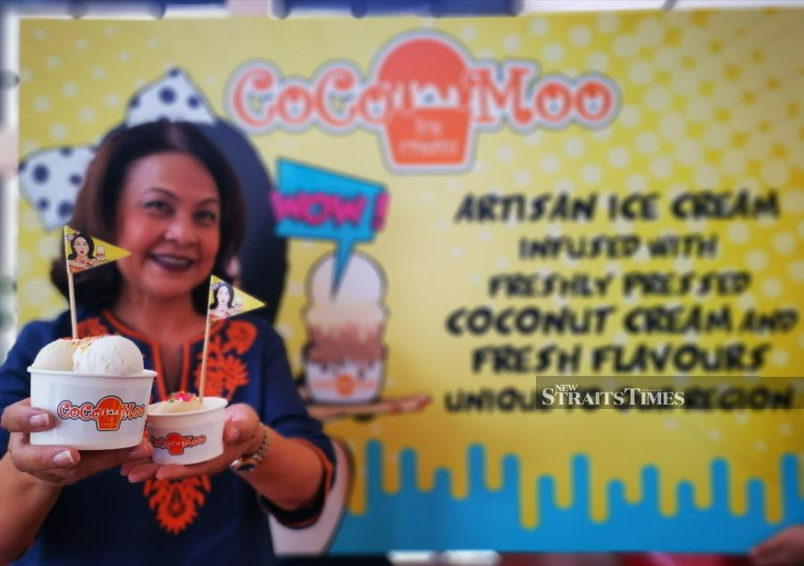 The ice cream lady | New Straits Times | Malaysia General