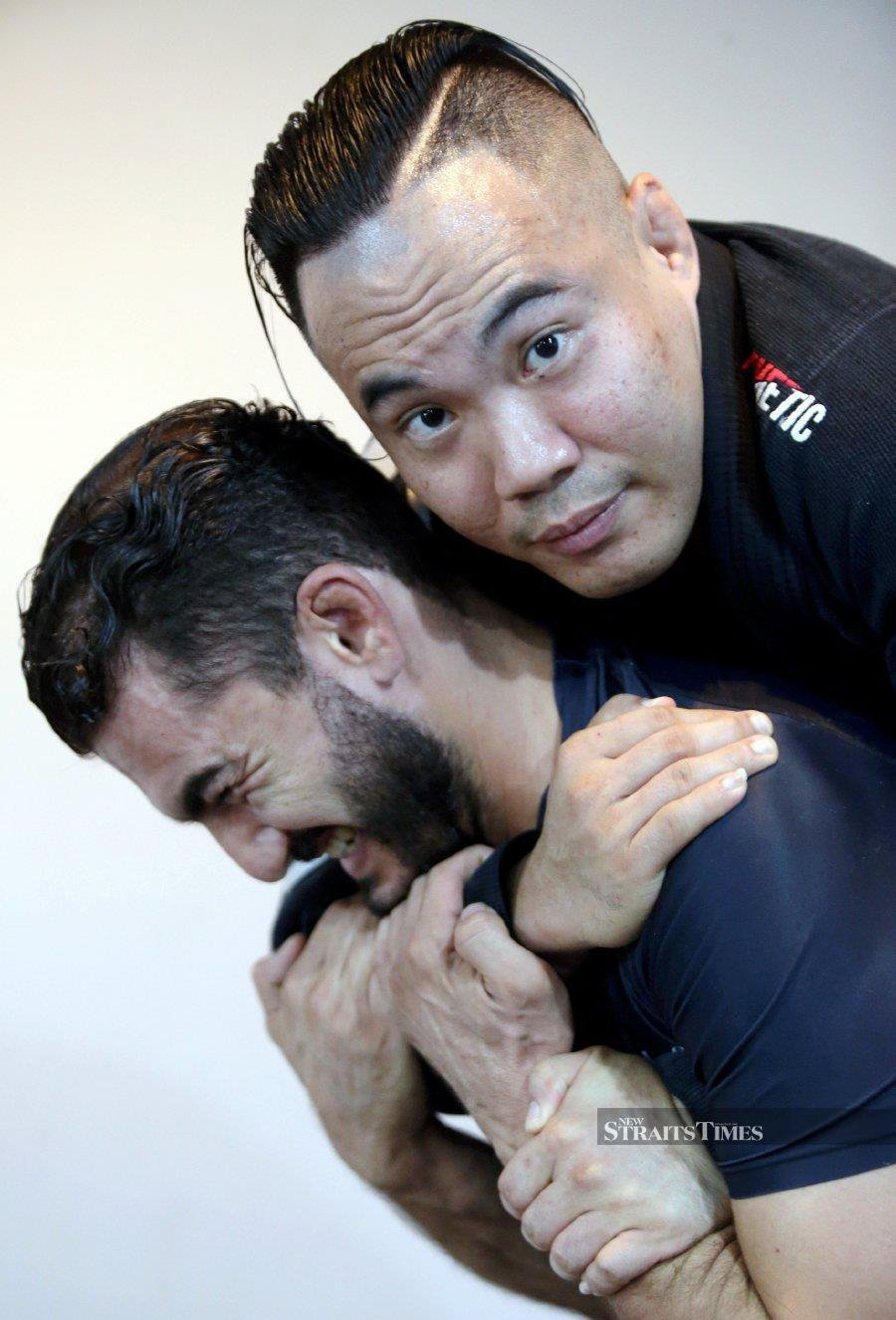Brazilian Jiu Jitsu champion Aaron Goh shows just why he's a