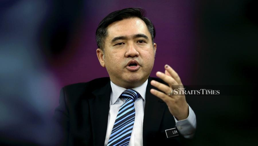 (File pic) Transport Minister Anthony Loke said Malaysia is taking advantage of its strategic location to develop into a bunker (fuel supply for ships) hub. (NSTP/ ZULFADHLI ZULKIFLI)