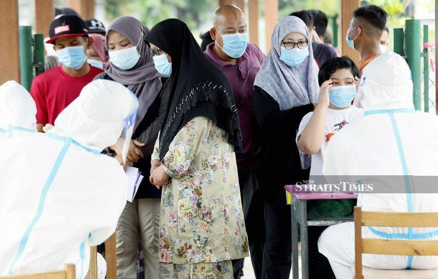 On Aug 6, Health director-general Datuk  Dr Noor Hisham Abdullah mentioned the possibility of the Sivagangga cluster viruses having what is referred to as the D614G mutation, referring to a mutation in the sequence of the spike protein at position number 614. - NSTP /AMRAN HAMID