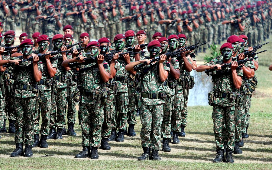 Malaysian peacekeepers will only be deployed to Palestine upon request by the United Nations (UN). STR file pic/ MUHAMMAD ZUHAIRI ZUBER