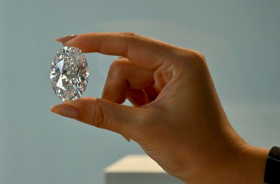 A Rare Diamond Sold at Sotheby's| 102.39 ct. D Color Flawless Diamond | October 5, 2020