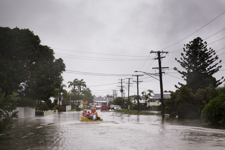 Once in a century' floods hit Australia's Queensland   New Straits