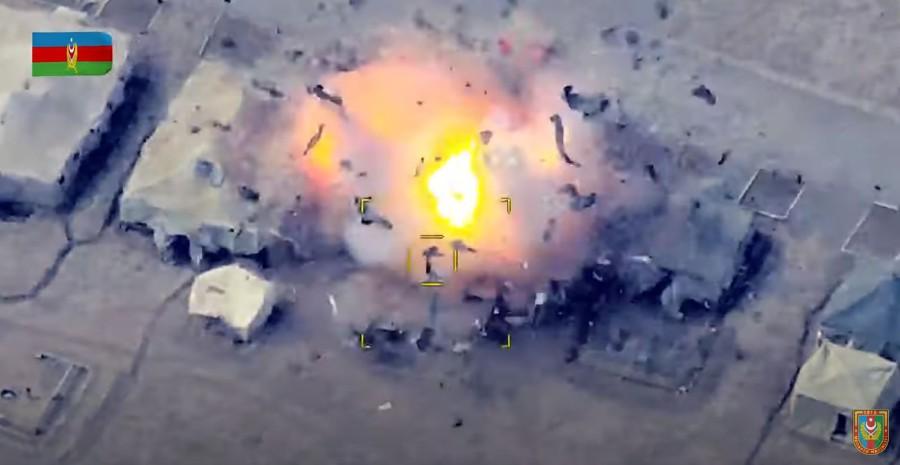 AZERBEJDŽANSKA VOJSKA OBJAVILA VIDEO: Uništili smo armenski S-300!