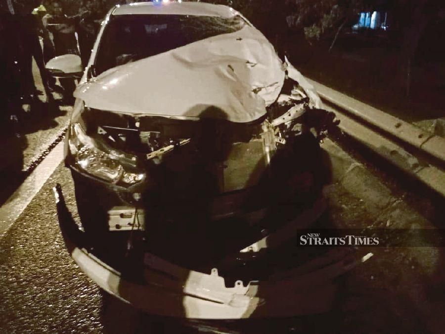 Police are urging witnesses to a fatal accident at KM13 of the Butterworth Outer Ring Road to step forward and assist investigations. - NSTP/Courtesy of PDRM