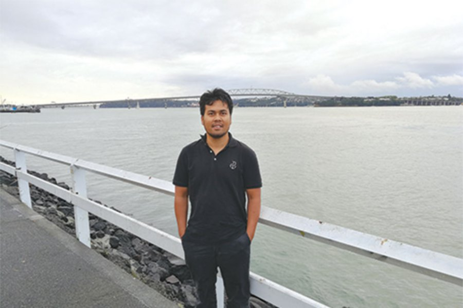 Ahmad Sufi Mokhtar is a recipient of this year's New Zealand-Asean Scholarship Awards.