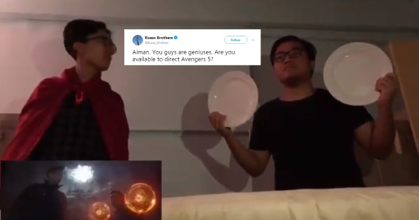 Made in Malaysia: 'Avengers: Infinity War' parody gets Russo Brothers' attention