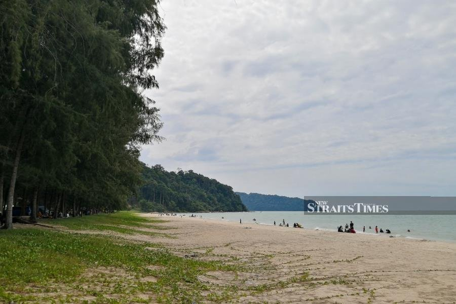 Air Papan's long stretch of coastline