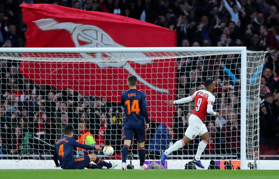 Lacazette double helps Arsenal beat Valencia 3-1 | New