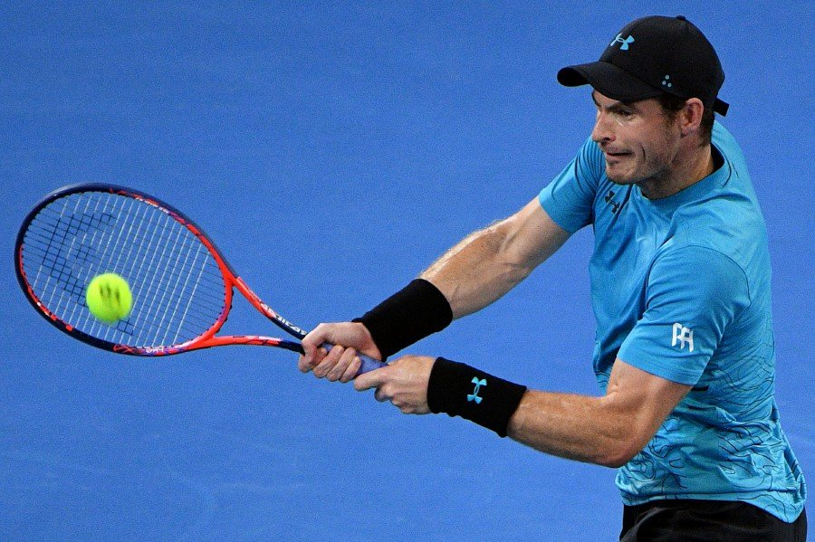 Murray's comeback halted by Medvedev in Brisbane second round | New Straits Times | Malaysia ...