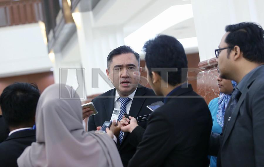 Transport Minister Anthony Loke Siew Fook said these drivers would be given a period until July 12, 2019 to obtain their PSV licences including undergoing the PSV course. NSTP/ Rosela Ismail