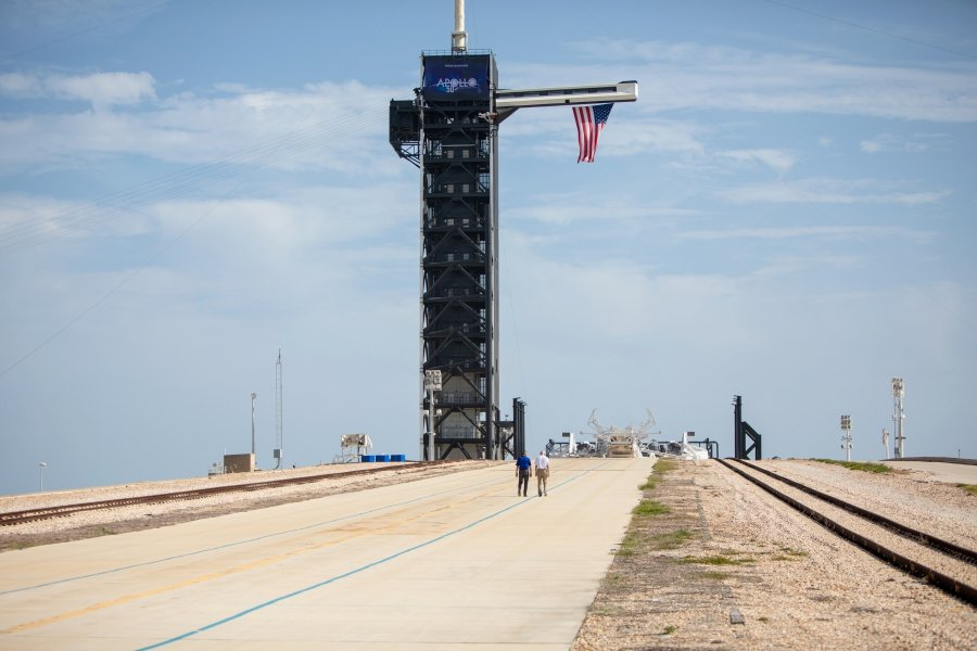 6d8b9099ca61a One giant leap': US marks Apollo mission 50 years on | New Straits ...