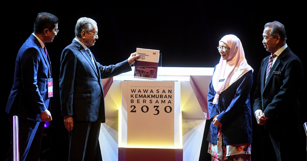 Dr M says Malaysia can be new Asian tiger under WKB2030