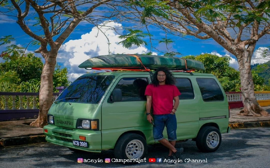 Asri Builds Campervan From Scratch By Watching Youtube