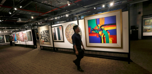 190 paintings worth RM3 2 million sold in just 4 hours at art
