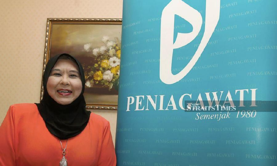 Association of Bumiputera Women in Business and Profession (Peniagawati) president Datuk Azlin Ahmad Shaharbi.