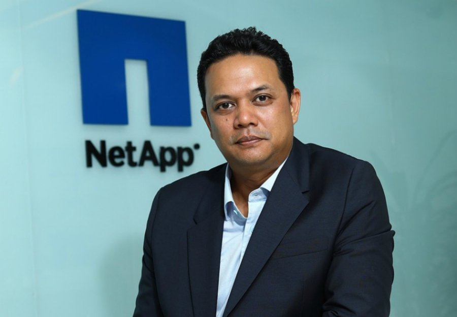 NetApp's country manager of Malaysia, Brunei and the Philippines, Azrin Abd Shukor.