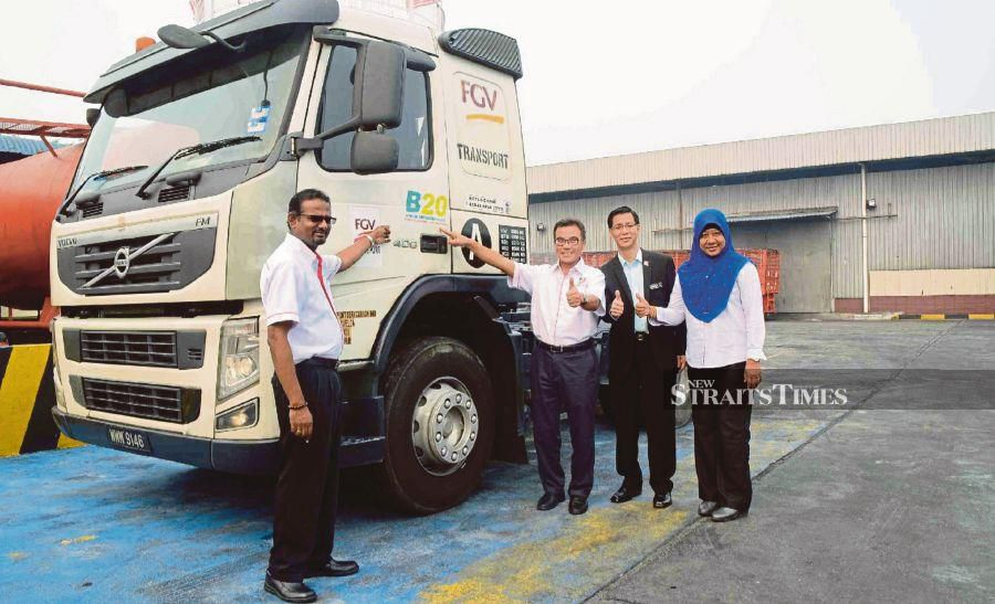 File photo: This is because scientific studies have proved that the use of biodiesel can reduce greenhouse gas emissions. For Malaysia, it will bring down the emissions by 3.8 tonnes a year.- NSTP/EMAIL