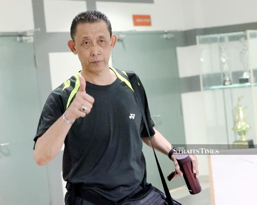 National men's singles coach Misbun Sidek said the tournament in Manila will give Malaysians a glimpse of what to expect from these players in the future. - FILE PIC